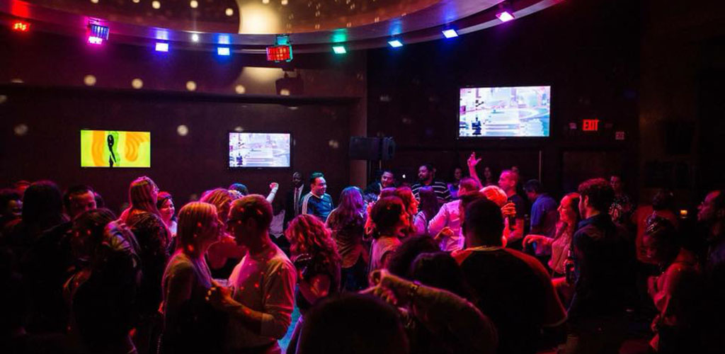 Aura Nughtclub is a bar that always draws in a crowd