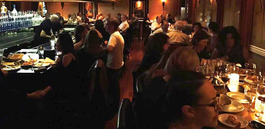 A lively candlelit evening at Va Bene Italian Restaurant & Wine Bar