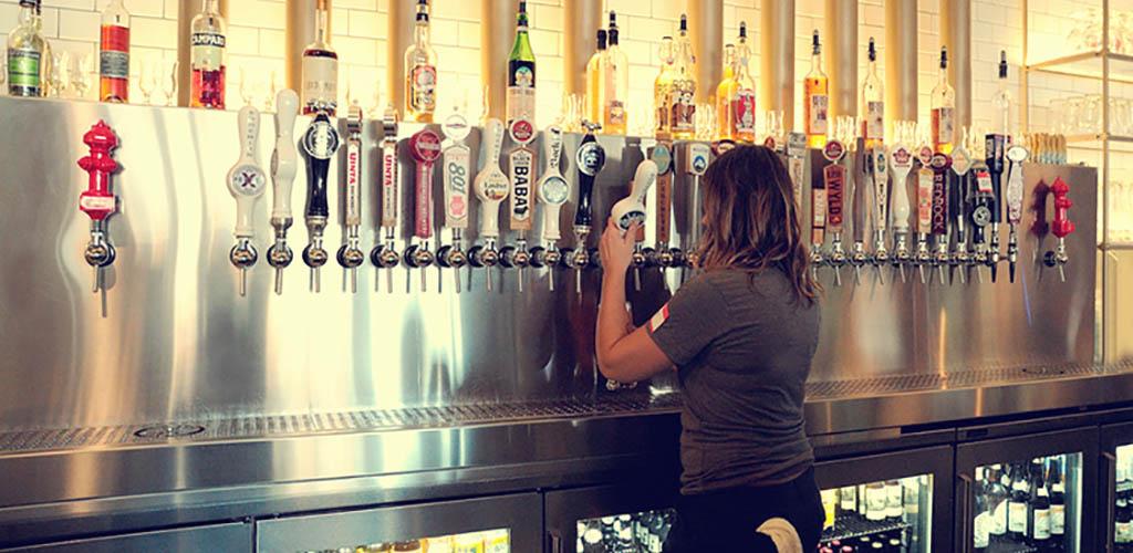 The taps at Bar-X