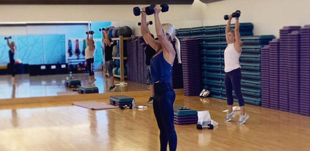 Women working out at Treehouse Athletic Club