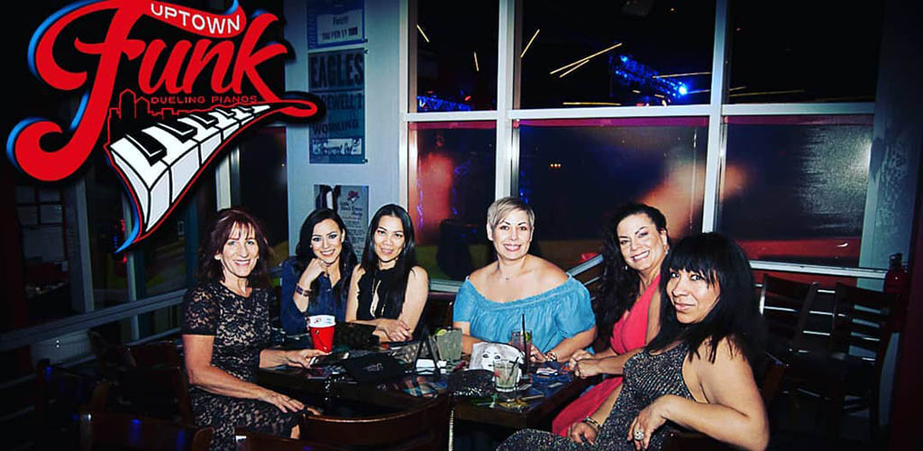 Cougars in New Mexico enjoying a night out at Uptown Funk Piano Bar