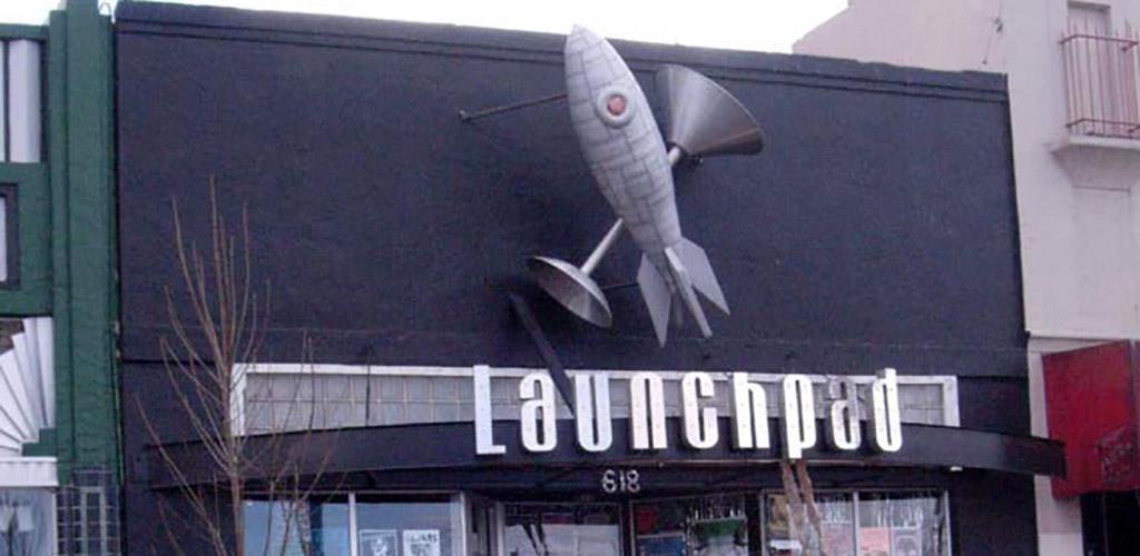 Launchpad Nightclub sign