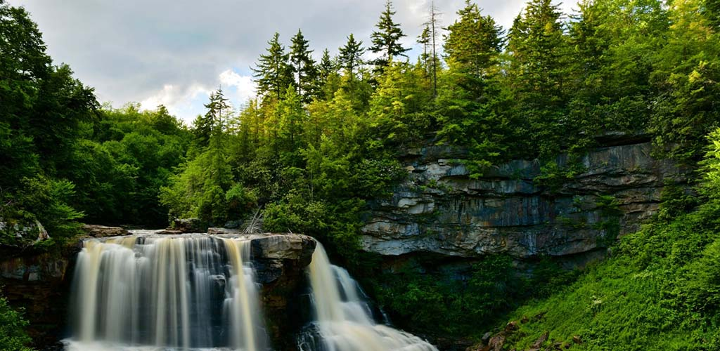 The picturesque Blackwater Falls State Park