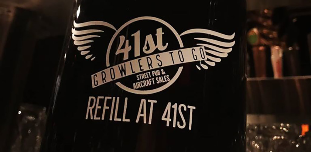 A beet bottle from 41st Street Pub
