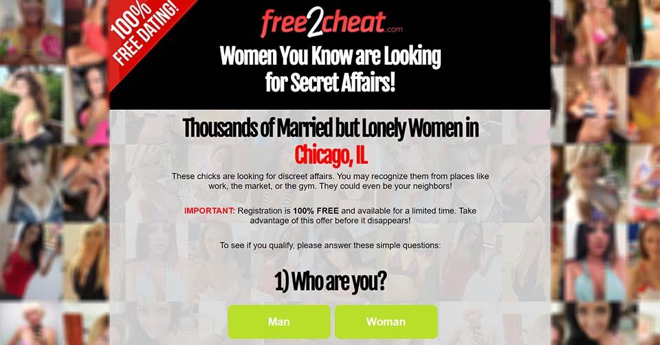Free2Cheat landing page