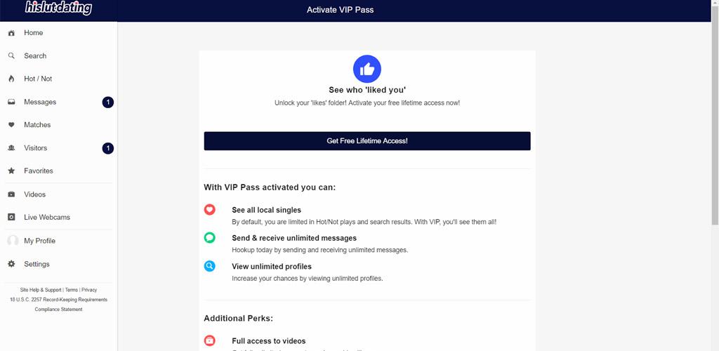 Activating your Hislut.com account