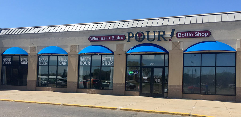 Exterior photo of Pour Wine Bar & Bistro