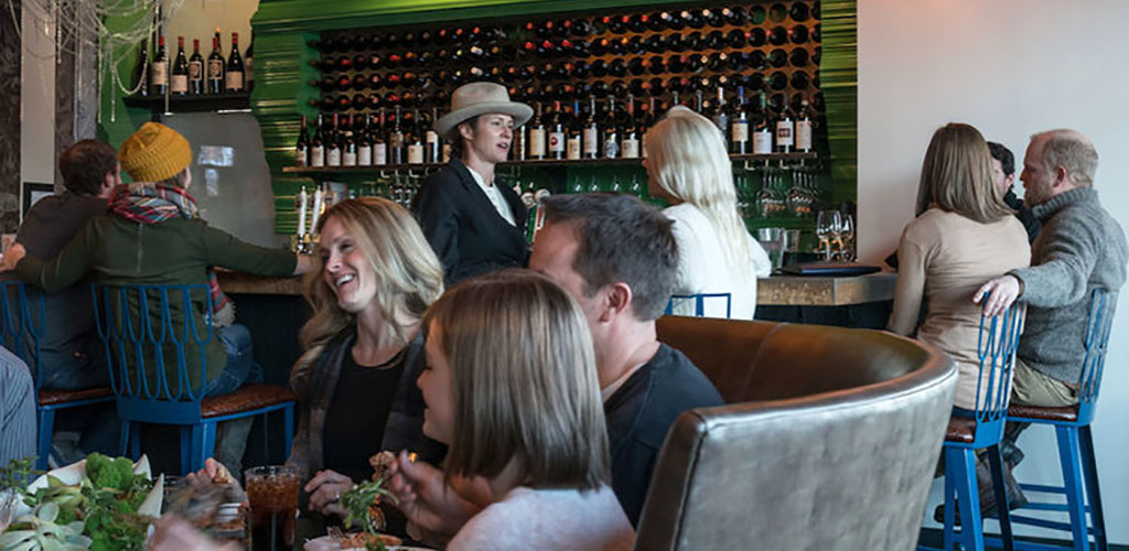 Feast is a popular bar that attracts older women