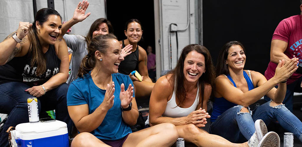 Fit and beautiful women at Ironclad