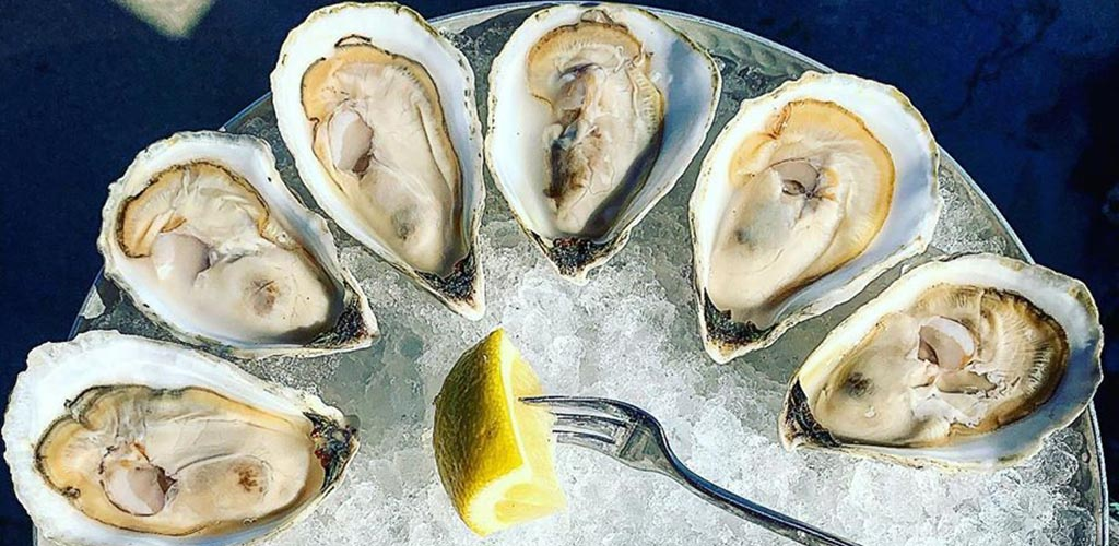 Fresh oysters from Water Street