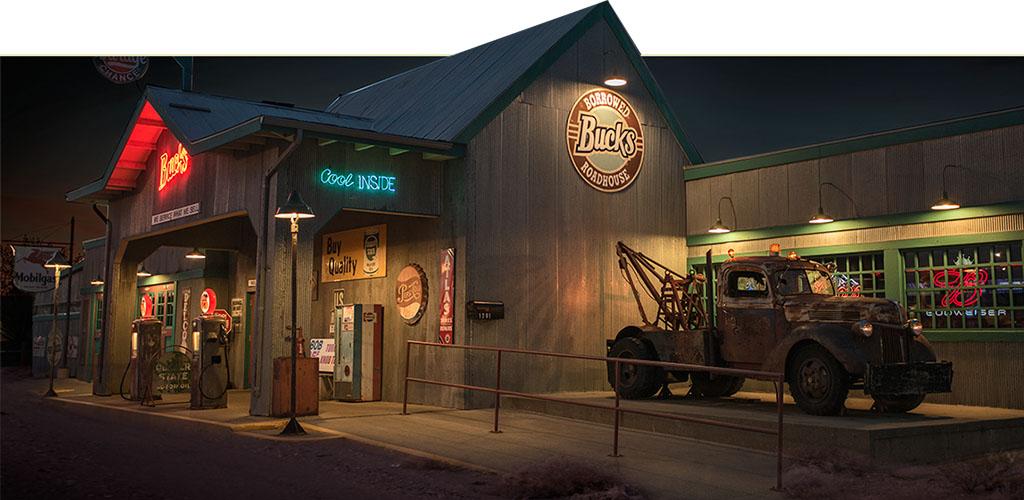 The outside of Borrowed Bucks Fargo