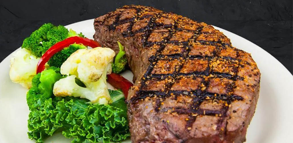 A huge steak from Cattleman's Roadhouse