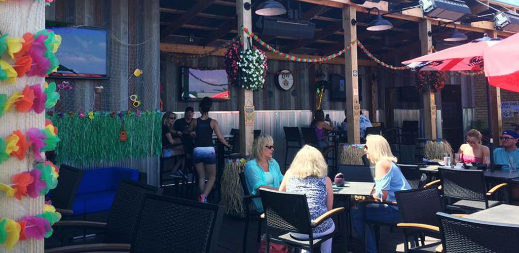 Cubby's is a cozy bar with a great patio