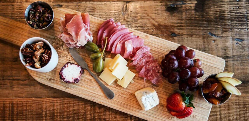 A charcuterie board from Maxwell's Restaurant and Bar