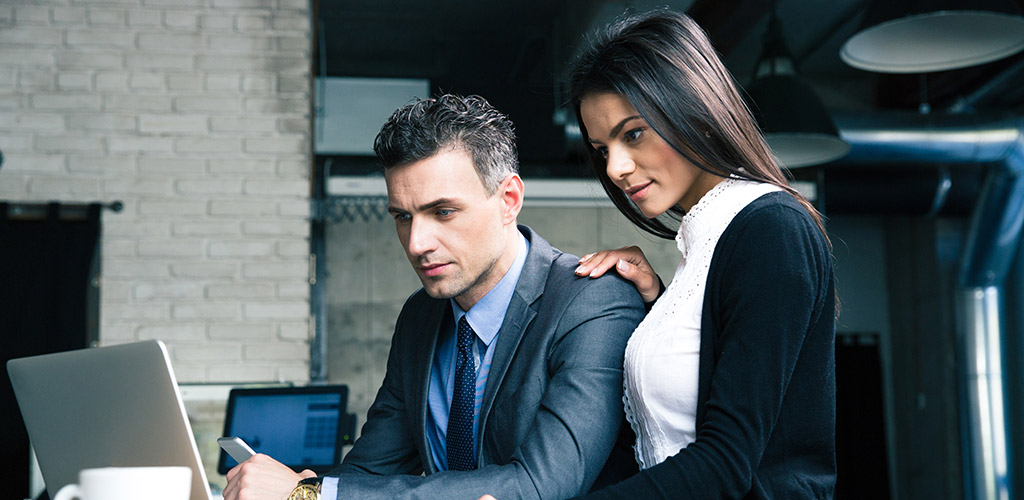 How to tell if a girl likes you at work and how to avoid