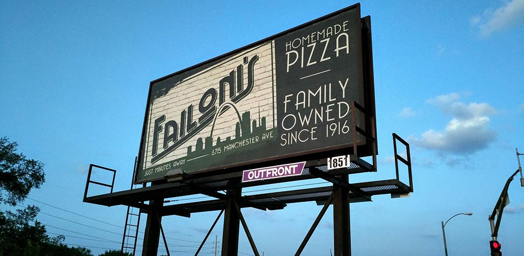 Failoni's billboard sign