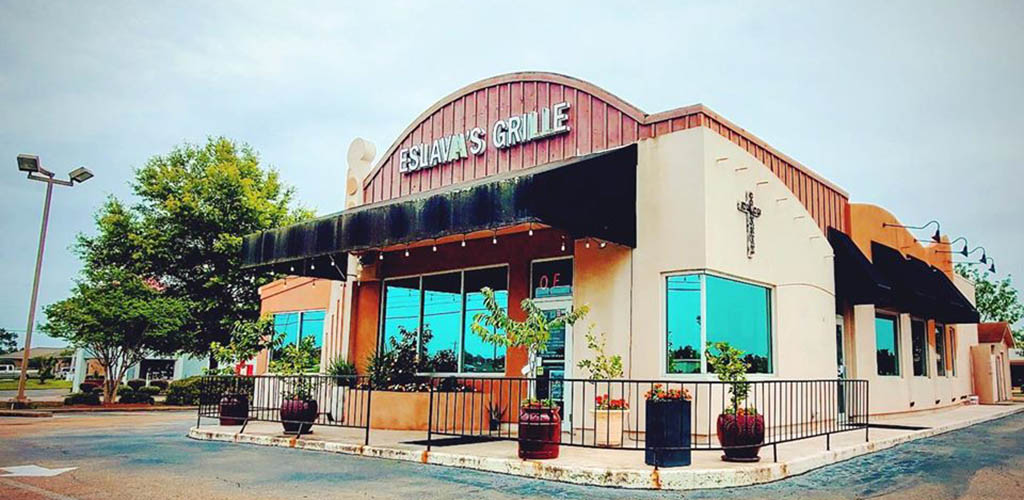The exterior of Eslava's Grille