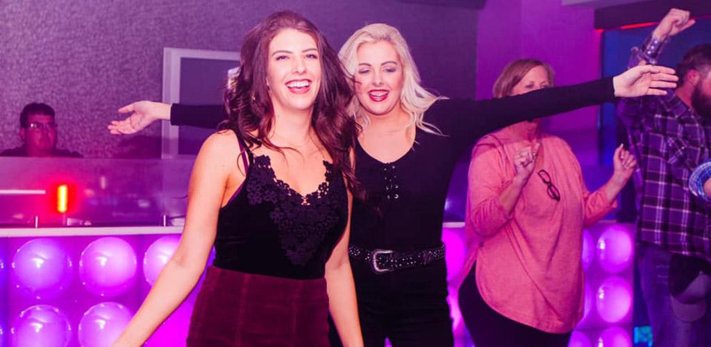 Beautiful women dancing at Hard Rock Hotel & Casino