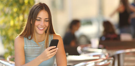 Texting longer messages is just one of the signs a girl is interested in you