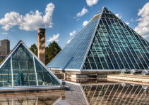 Take your new lady to the Edmonton glass pyramids after finding her on our list of the best Edmonton dating sites