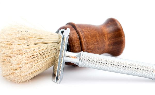 Shaving your head with a safety razor starts with patience and the right tools