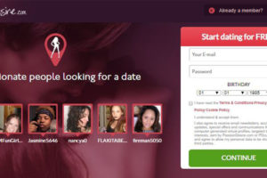 Homepage for Passion Desire