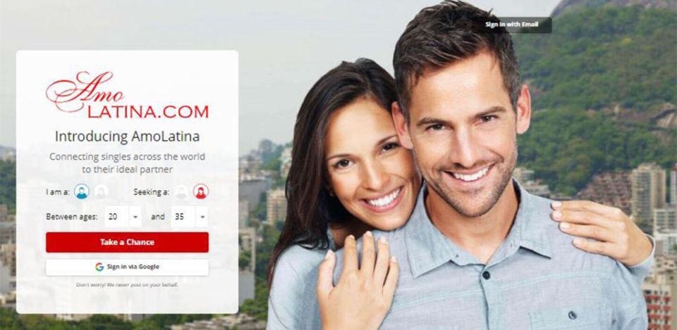 AmoLatina.com Review homepages