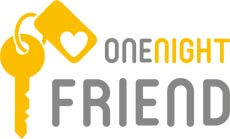 Logo for onenightfriend.com