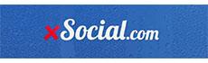 logo for xsocial.com