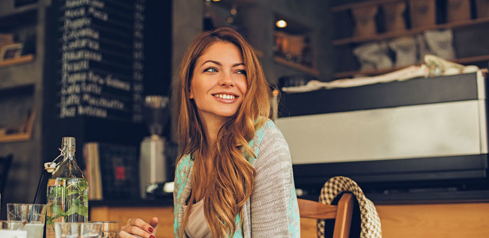 Get your caffeine fix and learn how to start a conversation with women at a coffee shop