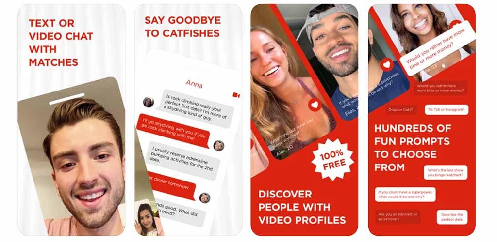 App screenshots of Curtn