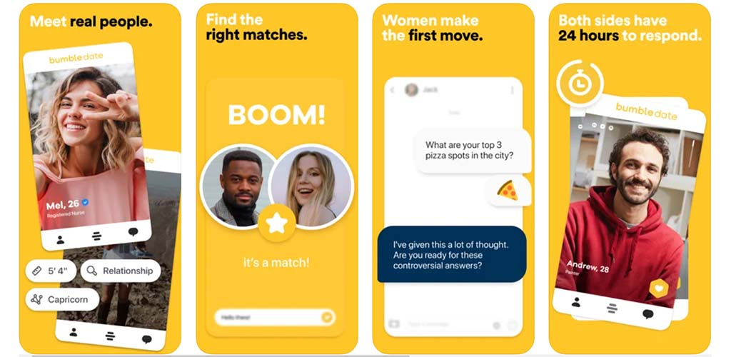 Bumble top features