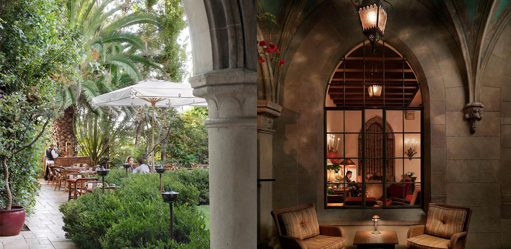 Women with a taste for luxury go to Chateau Marmont