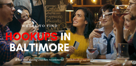 A dinner party where Baltimore hookups can happen