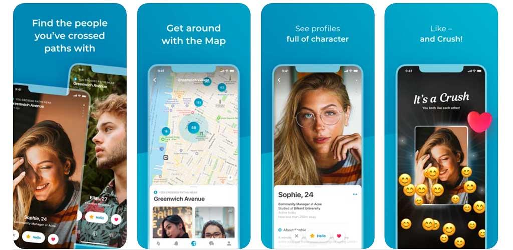 Happn app top features