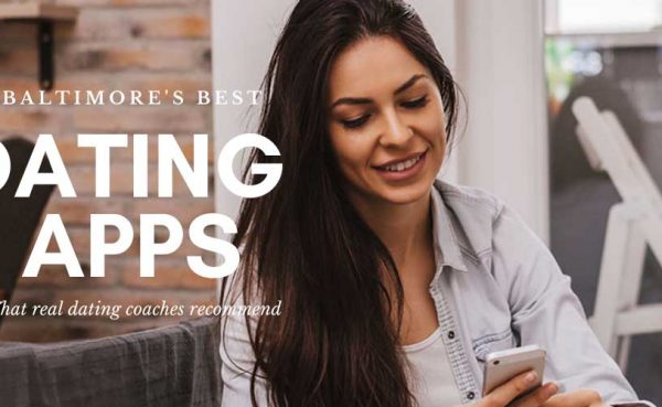 Pretty brunette trying out the best dating apps in Baltimore