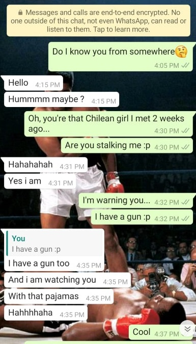 What to text a girl after getting her number for the first time 5