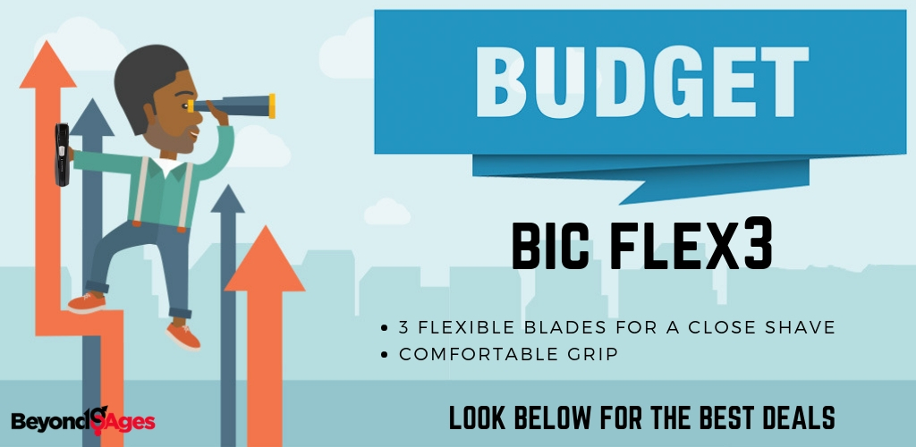 Bic Flex3 is the budget disposable razor to use
