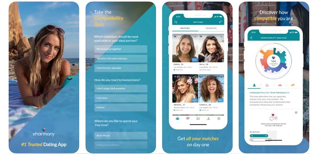 eHarmony app top features