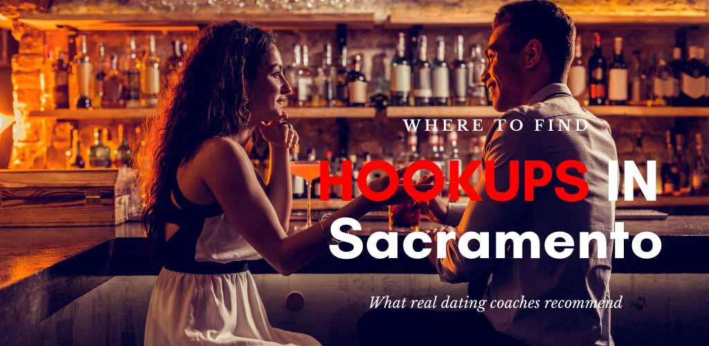A beautiful woman looking for Sacramento hookups at a bar