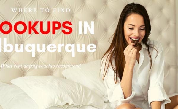 Girl eating chocolates in bed while checking out where to find Albuquerque hookups