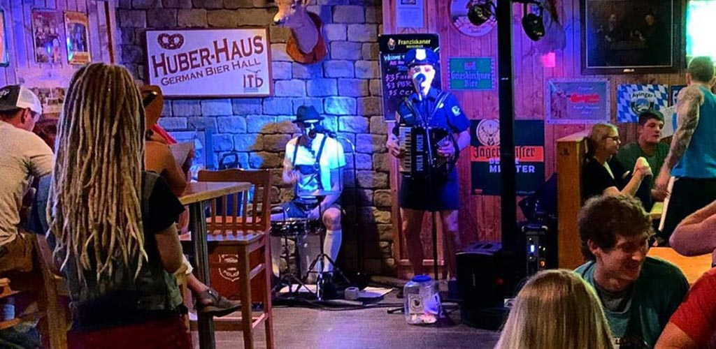 A live performance at Beer Corner