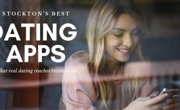 Checking out the best Stockton dating apps and sites at a cafe