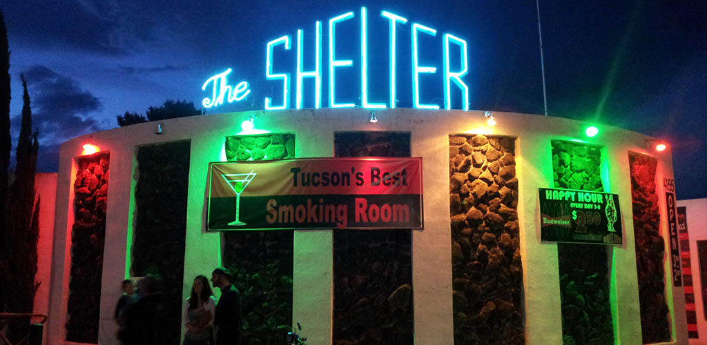 The Shelter Cocktail Lounge is a great place to meet fun and interesting women for Tucson casual encounters