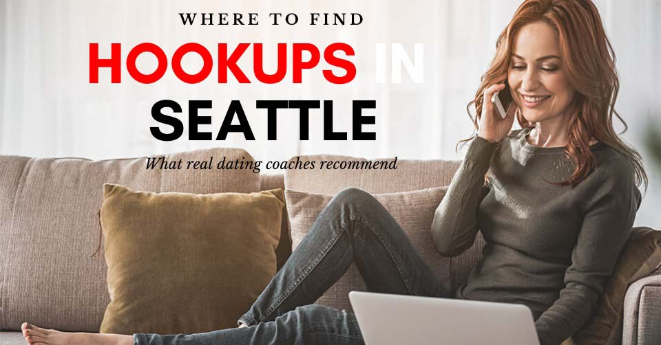 Woman searching for Seattle hookups online