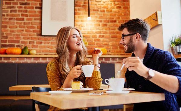 Man who knows what to talk about on a first date