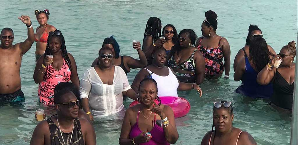 BBW in New York on a Bigger and Better Things Parties trip