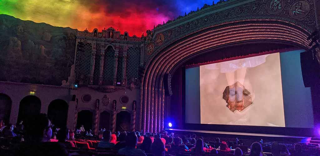 The theater at FilmBar