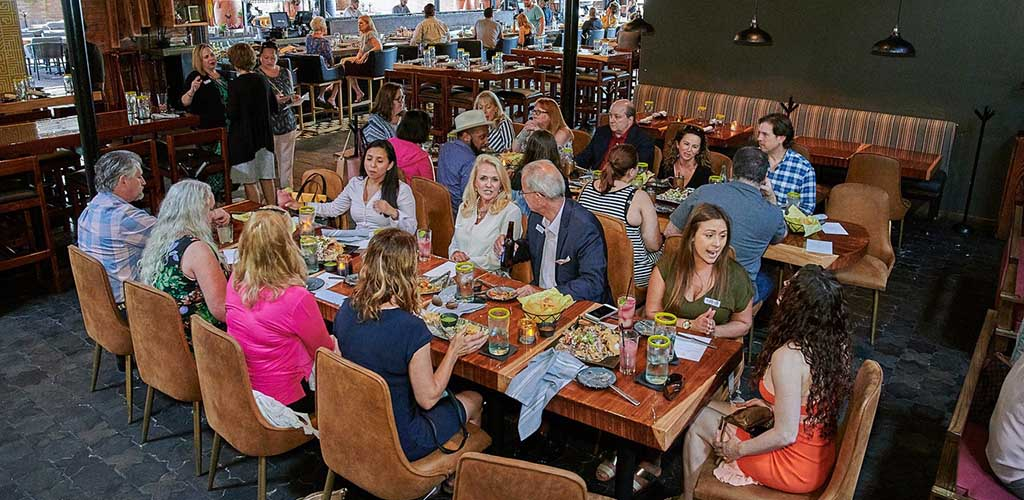 A group at the Food Tours of America