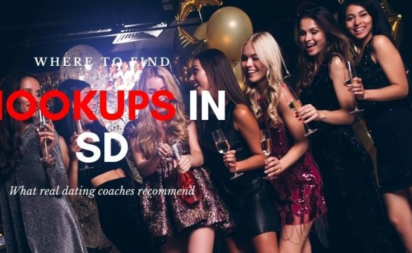 Group of girls looking for San Diego hookups at a bar